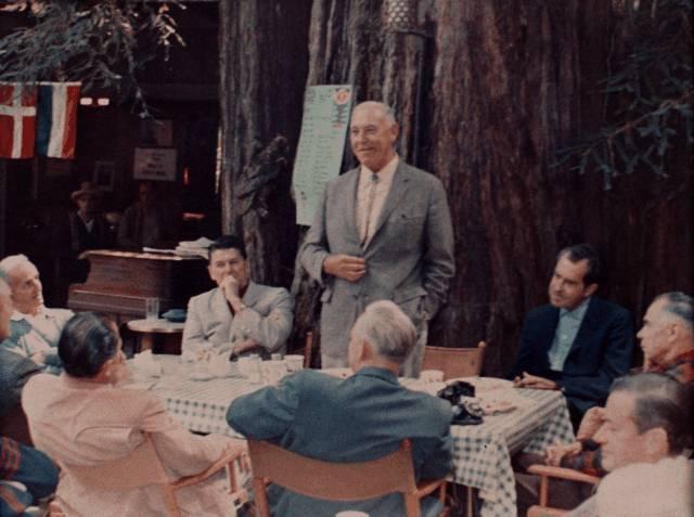 Präsidenten im Bohemian Grove