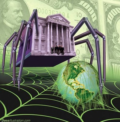 Die Weltwirtschaft im Netz der Spinne!